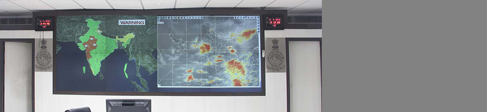 Video Wall Climate Monitoring Room