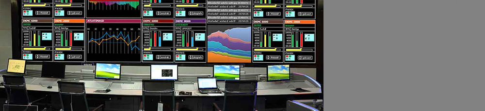 Process Control Video wall Room