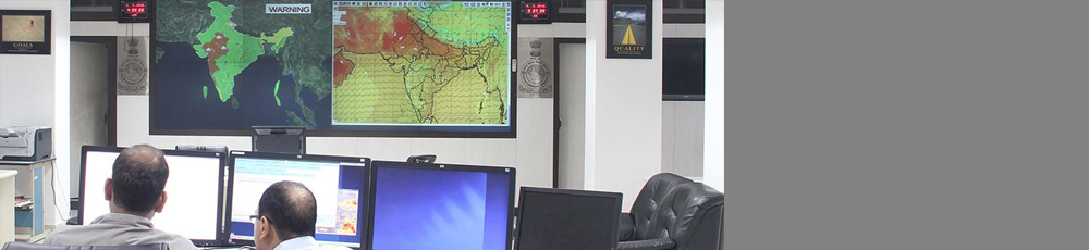 Weather forecasting Video-wall Control room