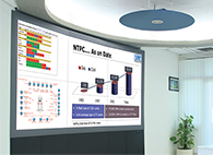 NTPC SACS Video wall Control Room-small