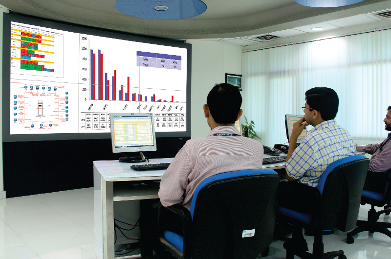 NTPC SACS Video wall Control Room-large