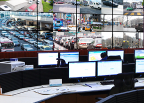 Highway Traffic Control Center in Suibei, China