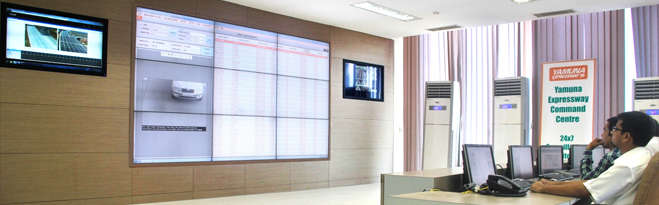 Traffic Management Video-wall Control-Room