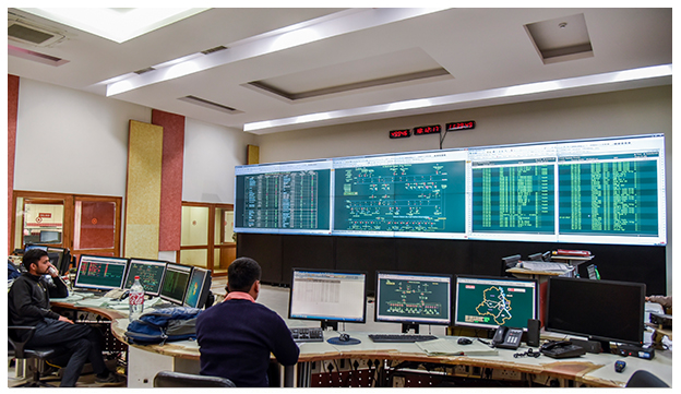 BSES Control Room- Powered by Delta Video wall